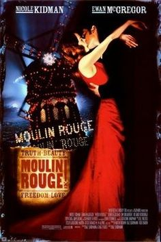 ''Moulin Rouge!'' 2001 movie poster.