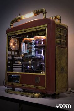 The Gamer Xtreme gaming PC is a fine example of the hard-won standing of CyberPowerPC in the gaming community. Gaming Computer Setup, Gaming Pc Build, Gaming Pcs, Computer Build, Pc Cases, Custom Computer Case, Custom Computers, Case Mods, Objet Deco Design