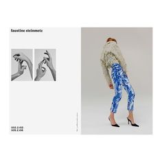 Fashion designer Faustine Steinmetz has teamed up with photographer Arnaud Lajeunie and art director Aude Debout for her debut campaign. Editorial Layout, Editorial Design, Editorial Fashion, Faustine Steinmetz, Crossover, Lookbook Design, Magazine Layout Design, Fashion Art, Fashion Design