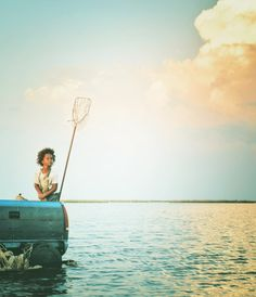 """I see that I am a little piece of a big, big universe, and that makes it right."" -Beasts of the Southern Wild"