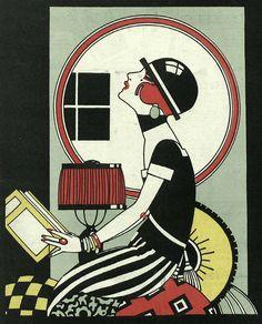25 illustrated covers for the Spanish magazine Nuevo Mundo, circa 1919–30- 50 Watts