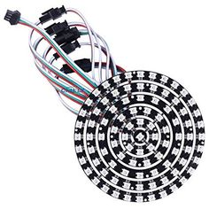 Logical Ws2812b 4*4 16-bit Full Color 5050 Rgb Led Lamp Panel Light For Arduino Wholesale To Suit The PeopleS Convenience Electronic Components & Supplies