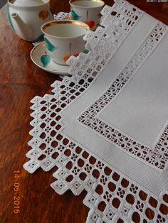 Hardanger Doily .handcraft table runners by HardangerUA on Etsy