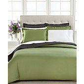 Macys CLOSEOUT! Charter Club Bedding, Damask Solid 500 Thread Count Duvet Cover