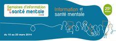 Semaine de la santé mentale. Du 10 au 23 mars 2014 à cergy.