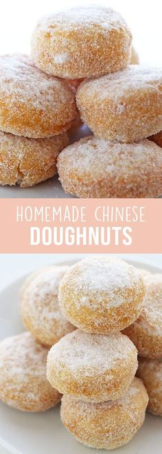 This Homemade Chinese Doughnut recipe is reminiscent of the ones you get from the Chinese buffet dessert table but made from scratch in less than 1 hour.