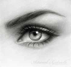 amzing drawings | This amazing eye drawing was created by Gabrielle. You can see her ...