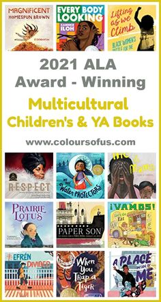 Check out this year's ALA youth media award-winning multicultural children's and young adult books! There's something for every age group! Best Books List, Book Lists, Ya Books, Good Books, King Author, Happy Reading, Book Publishing, Childrens Books