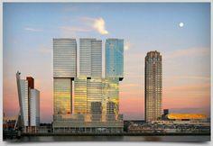 De Rotterdam designed by Koolhaas