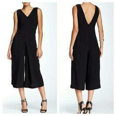 Romeo and Juliet Couture Black Culottes Jumpsuit NWTs. Romeo & Juliet Couture Pants Jumpsuits & Rompers