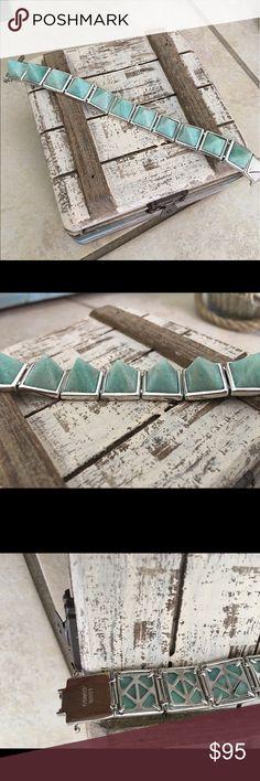 Eddie Borgo Bracelet Gem stone pyramid stones with silver hardware. No trades. ❤️Love the item but not the price? Make an offer!  Happy Shopping. 🛍 eddie borgo  Jewelry Bracelets