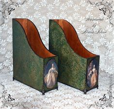 Декор предметов Декупаж Кракелюр Великолепный Век Маркизы де Помпадур фото 4