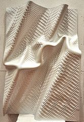 "Yale School of Architecture: Mark Foster Gage's ""Disheveled Geometries"" (sponsored by Autodesk) (_ElijahPorter) Tags: maya autodesk surface kuka cncmill mudbox yaleschoolofarchitecture markfostergage codywilsondavis digitalfabrciation"