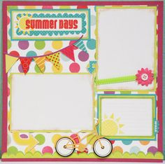 Scrapbook idea I'm getting into the whole flag thing :) by kcampany Disney Scrapbook, Baby Scrapbook, Scrapbook Paper Crafts, Scrapbook Cards, Scrapbook Sketches, Scrapbook Page Layouts, Paper Piecing, Making Ideas, Card Making