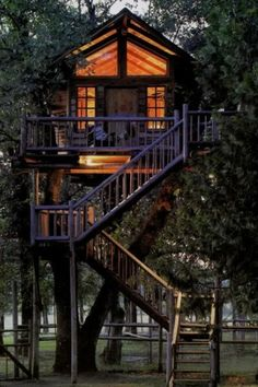Every child's dream tree house