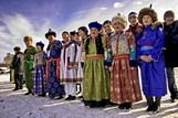 Buryats - one of the most numerous peoples of Siberia, which live in five subjects of the Russian Federation. Buryats compact live in the territory of Mongolia and China.