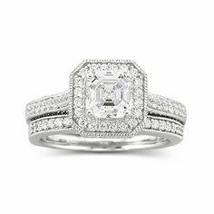 DiamonArt® Cubic Zirconia Engagement Ring found at Cubic Zirconia Engagement Rings, Cubic Zirconia Rings, Bridal Rings, Wedding Rings, Wedding Cakes, Gold Sapphire Ring, Wedding Anniversary Rings, Photo Jewelry, Jewelry Box