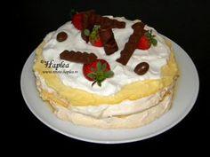 Prajitura Raffaello făcută în casă cu cremă mascarpone Oreo Brownies, Brownie Cake, Nutella, No Cook Desserts, Pavlova, Cheesecake, Cooking, Food, Syrup
