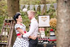 Inspiration Rockabilly: Sweet Candy Table