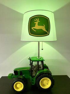 Fix John Deere Tractors 202450945737222243 - John Deere Tractor Lamp Farm Lamp Kids Night Light Source by tarakemp John Deere Baby, John Deere Boys Room, John Deere Nursery, John Deere Bedroom, John Deere Kids, Boys Tractor Bedroom, Tractor Nursery, Tractor Room, Tractors For Kids