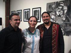 The lovely Persian female vocalist Ghazaleh Fayli with Pezhham Akhavass and Saman Mahmoudi for Human Rights benefit 2011