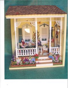 Dollhouse miniature Mary Engelbreit
