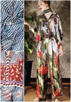 The Patternbank team are loving the new SS17 Ready to Wear collection from For Restless Sleepers.Print highlights included, bold geometrics, lush tropica