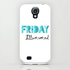 Friday Illustrated iPhone & iPod Case Ipod, Iphone Cases, Friday, Illustration, Art, Art Background, Illustrations, Kunst, Iphone Case