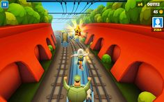 Subway surfers play on the computer #Subway_Surf : http://subwaysurfers.co/