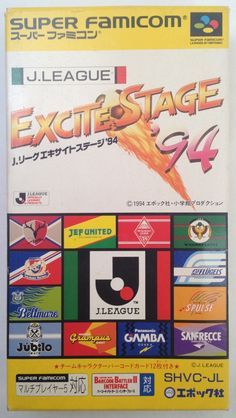 #Famicom :  Super Famicom :  J League Excite Stage '94 SHVC-JL http://www.japanstuff.biz/ CLICK THE FOLLOWING LINK TO BUY IT ( IF STILL AVAILABLE ) http://www.delcampe.net/page/item/id,0364957060,language,E.html
