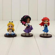 Disney Princess Q Posket Qposket Belle Alice Cinderella Snow White Figure Model