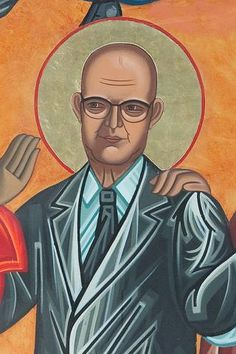 W. Edwards Deming | All Saints Company. The Dancing Saints Icons project at Saint Gregory Nyssen Episcopal Church, San Francisco is a multi-year installation project supported by All Saints Company, the congregation of Saint Gregory Nyssen Church and many donors and benefactors. The iconographer is Mark Dukes.