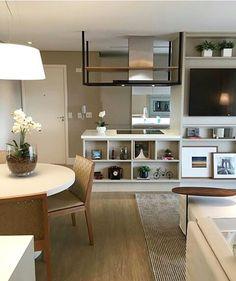 Apaixonado por cada detalhe desta linda Sala de TV cheia de charme. Projeto: AR Arquitetura Design.
