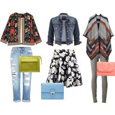 3 looks for spring! by aujourlejour on Polyvore featuring мода, Topshop, maurices, rag & bone/JEAN, Genetic Denim, Boohoo, Dolce&Gabbana, Acne Studios and Vera Bradley