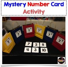 Engage your student in a new way using the mystery bag concept. Using this strategy your students will count numbers and solve addition problems using mystery clues. If you like this activity, you will also like: 100's Chart Number Squares Hundreds Chart Mania More Less or Between Game