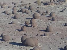 Cancha de Bochas, Valle de La Luna, Parque Nacional Ischigualasto, San Juan- República Argentina