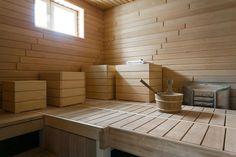 Hauskat jakkarat saunassa Sauna Room, Plunge Pool, Saunas, Bathroom, House, Sauna Ideas, Koti, Volkswagen, Pine