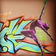 #dance #balet #graffiti #graffitiart