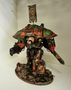 Burning Wrath an House Cadmus Imperial Knight  #warhammer #40k #imperialknight