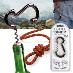 Just what we need to add to our outdoor backpack!!
