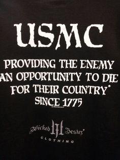 You betcha -- USMC - Marines - Devil Dogs - Leathernecks - Grunts - Jarheads - Semper Fi - Marine Love - Ooh-rah Marine Corps Humor, Us Marine Corps, Once A Marine, Marine Mom, Military Humor, Military Life, Marine Quotes, Usmc Quotes, The Few The Proud