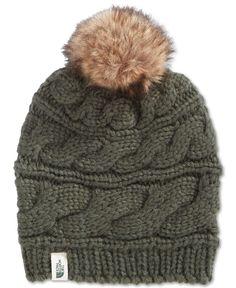 The North Face Faux-Fur-Trim Pom Pom Hat Women - Women s Brands - Macy s 39f68f1dc45a