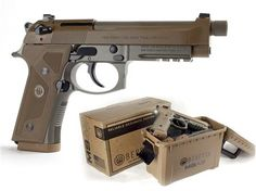 """Beretta M9A3, 9mm, 4.9"""" Desert Tan"""