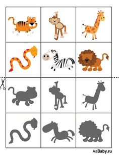 Animal Activities For Kids, Toddler Learning Activities, Preschool Learning Activities, Book Activities, Kids Learning, Flashcards For Kids, Camping Crafts, Exercise For Kids, Ideas