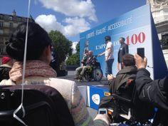Liberté - Égalité - Accessibilité : l'appel des 100 {ce fameux jour où je suis allée manifester}
