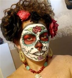 Day Of The Dead Skull Makeup - Bing Images