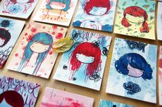 100 little faces, and struggling with perfectionism | stasia burrington