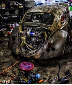 """Boosted Cars™️️️️ on Instagram: """" the Dung! @405_photo killing it with shots from the 405 give him a follow! ____ @aznstreetoutlaws @fna405 ____ #dungbeetle #vw #turbo…"""""""