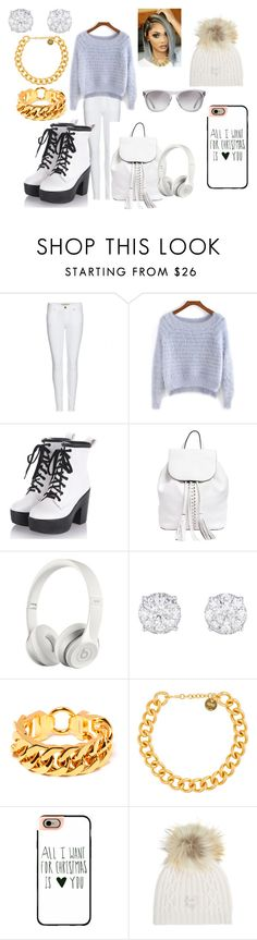 """White Day"" by allynnehstyles on Polyvore featuring Burberry, Rebecca Minkoff, Beats by Dr. Dre, Alexander McQueen, Casetify, M. Miller and Oliver Peoples"