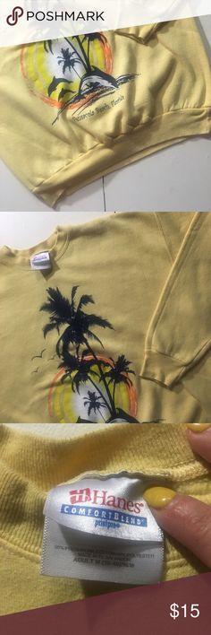 Vintage Pensacola Beach Crewneck Sweatshirt Vintage Pensacola Beach crewneck sweatshirt. In great condition. Vintage Sweaters Crew & Scoop Necks
